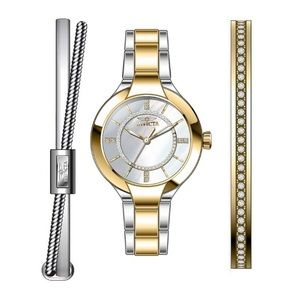 INVICTA Women's Two-tone Watch Set NEW